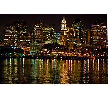 Boston Light Photographic Print