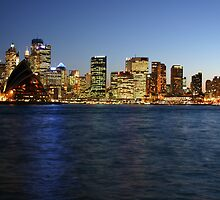 A Sydney Night by Paul Duckett