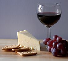Cheese and Wine by Pauline Rumsey