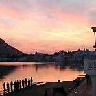 Pushkar lake by clochette