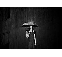 Be for Me, Like Rain Photographic Print