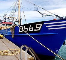 Fishing Boat in Howth Harbour , Co. Dublin by belvena