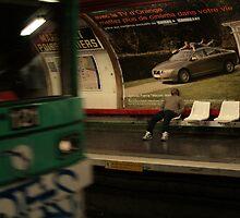 Metro, Paris by Christopher Bobyn