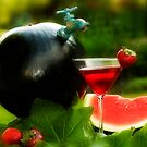 Watermelon Jug by Trudy Wilkerson
