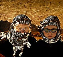 The Two Terrorists  by Hany  Kamel