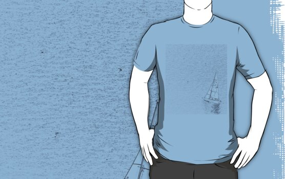 sail boat t-shirt by faithie