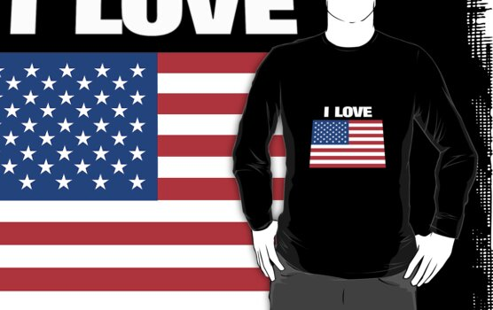 I love USA by AravindTeki