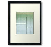 big door, little door Framed Print