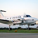 Beechcraft King Air by HoltPhotography