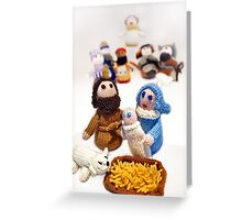 ...and a King was born.... Greeting Card