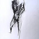 Nude self study by Arzeian