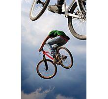 Airborne bikes Photographic Print