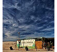 the beach shack Photographic Print