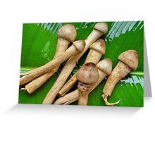 Phallic fungi Greeting Card