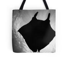 Manta Silhouette B&W Tote Bag