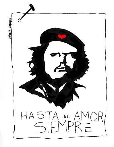Revolutionary love by Julieta Arroquy
