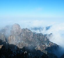 Above the sky, Huangshan, China by jip0412