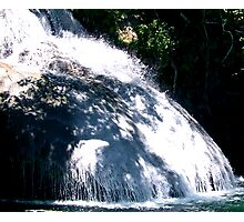 Mexican River Walk Waterfall Photographic Print