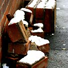 Snow bricks by AJPPhotography