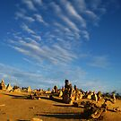 Desert sky by Jodi Fleming