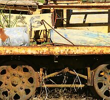 Ravenshoe Steam Train Series - Maintenance Cart by Caroline Angell
