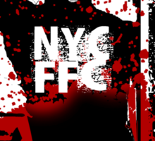 free fighting combat Sticker