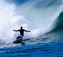 Bowls Bottom Turn by kevin smith  skystudiohawaii