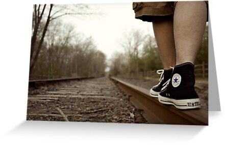 stay on track. by Kyle Carlos