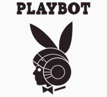 Playbot - Black Logo by Matt Moylan