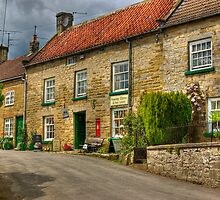 Village Stores and Tea Room  -  Hawnby. by Trevor Kersley