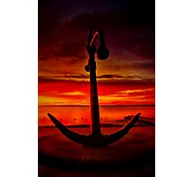"""""""The Anchor Holds"""" Photographic Print"""