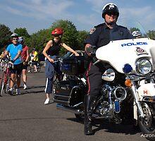 POLICE bike by Aaron Goodchild