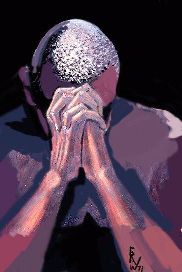 PRAYER by CustomCanvasART