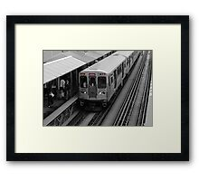 "Chicago ""L"" Framed Print"
