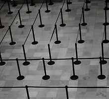 Waiting line by Ghelly