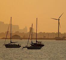 Sunset Bay by papasan59