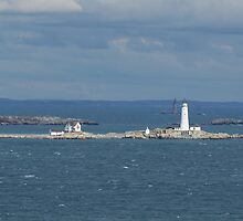 Boston and Graves Lighthouses by papasan59