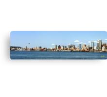 Seattle Skyline Thirteen Canvas Print