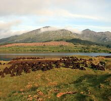 Early morning at Lough Inagh by John Quinn