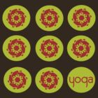 yoga by Om  Tees