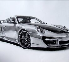 porsche 911 turbo techart by donescu