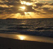 Sunset at Jurien Bay WA by Karyn Lake