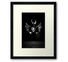 Haha, Just playing around a little? Framed Print