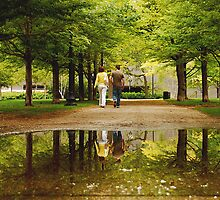 SPRINGTIME REFLECTIONS  (LOVE) by Scott  d'Almeida