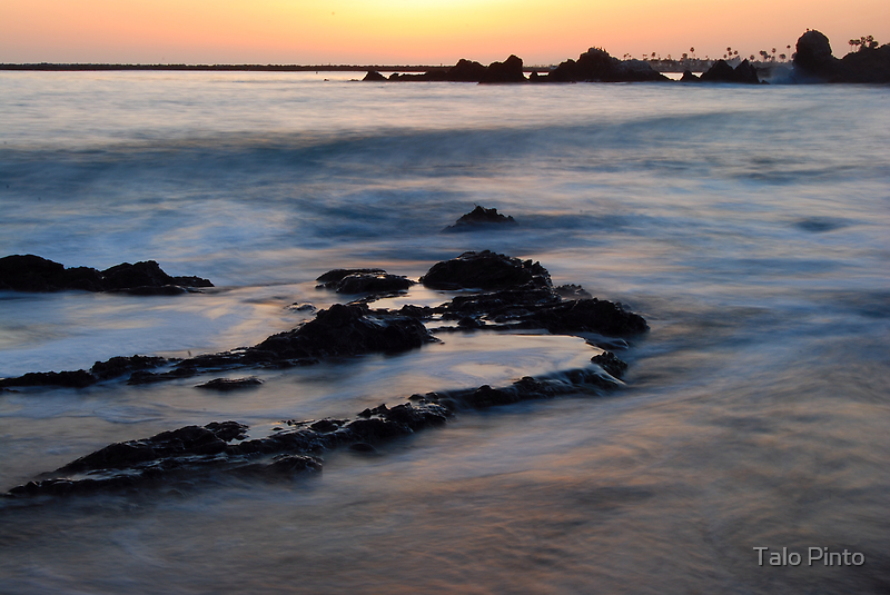 Tide at Sunset  by Talo Pinto