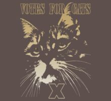 Votes for Cats T-Shirt by simpsonvisuals