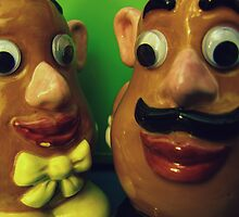 Mr. & Mrs. Potato Head by deadbetty