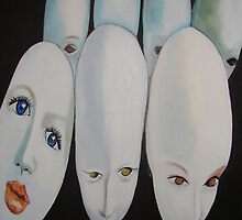 Doll Heads by Lorry666