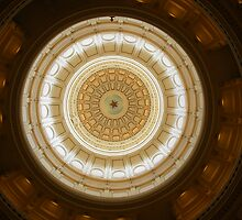 Texas State Capital Rotunda by plsphoto
