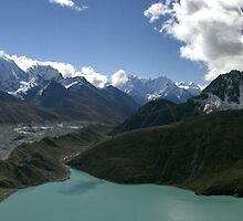 Great Gokyo Below by Richard Heath